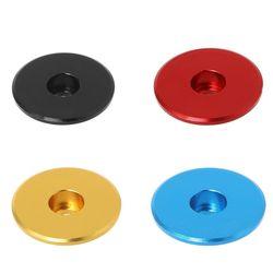 2 sztuk rowerów zestaw słuchawkowy Cap przedni widelec macierzystych Top czapki miska osłona rury ze stopu aluminium Ultralight kolorowe części rowerowe MTB|Zestawy słuchawkowe na rower|   -