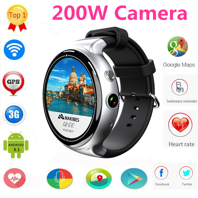 3c6101725cd for HUAWEI WATCH GT Smart watch 1.39 Amoled 400 400 KW88 Pro I4 AIR Android  5.1 Smartwatch 2GB + 16GB 3G Calling 2.0MP Cam watch