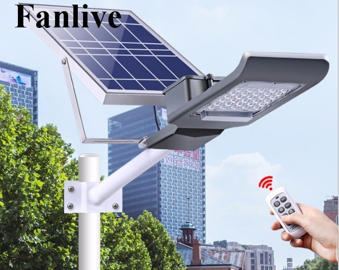 5pcs/lot 20W 30W Solar Power LED Street Light Solar Panel + LED Lamp Arm Full Set Solar LED Garden Road Pard Light