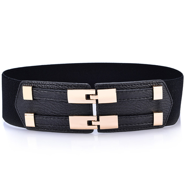Wide Elastic Belts