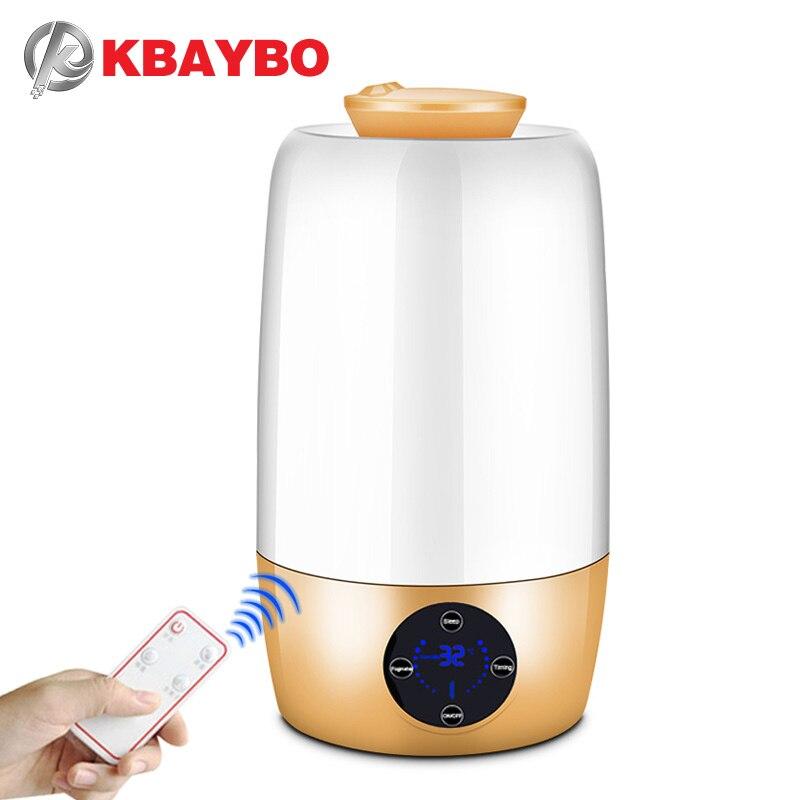 KBAYBO ультразвуковой ароматерапия DiffuserGrain ультразвуковой холодный туман увлажнитель для офиса дома спальня гостиная