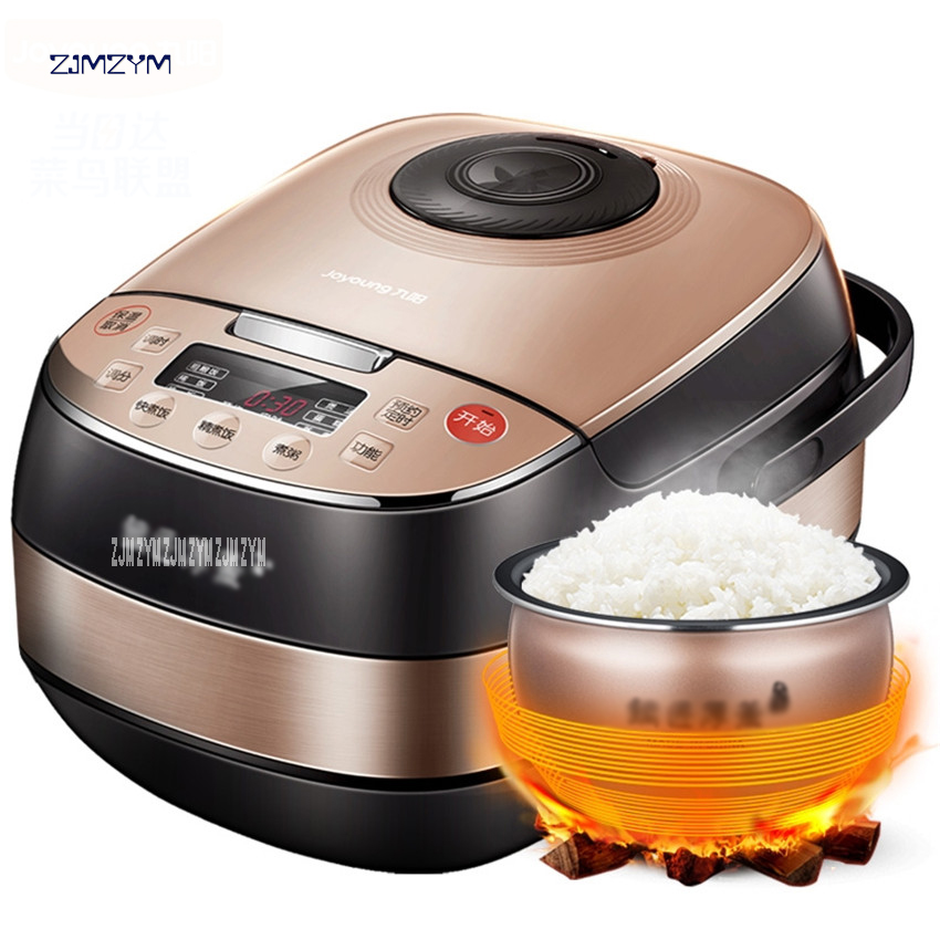 F-40FY803 Smart Electric Rice Cooker 4L alloy cast iron Heating pressure cooker appliances for kitchen ,Appointment: 0-24 hours for kenwood pressure cooker 6l multivarka electric cooker 220v 1000w smokehouse teflon coating electric rice cooker crockpots