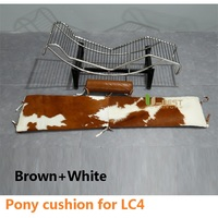 Free shipping U BEST Modern Hotel Furniture S Shaped Le Corbusier Lc4 Chaise Lounge Chair Cushion,only for leather cushion