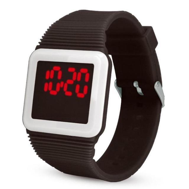 Hot Sale Children Watch Mens Womens Silicone LED Watch Sports Bracelet Digital S