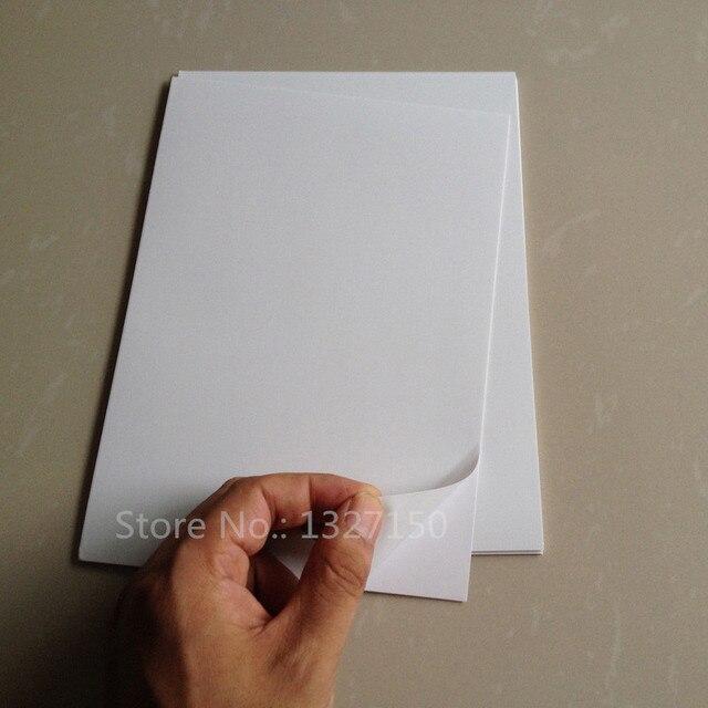 Us 2184 5 Off50 Blätter A5 Weiß Wasserdicht Matte Pvc Selbst Etikett Aufkleber Drucker Papier Für Laser Drucker In 50 Blätter A5 Weiß Wasserdicht