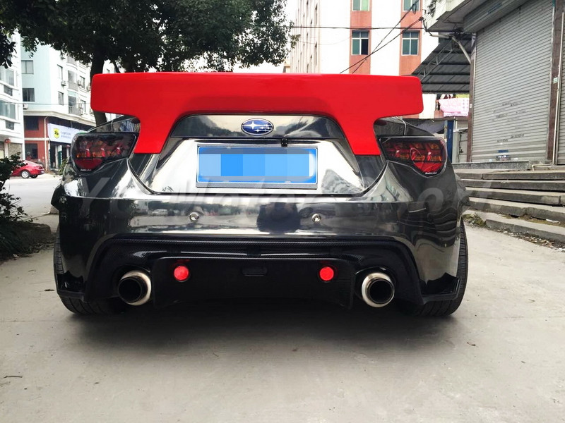 GT86 FT86 ZN6 FRS BRZ ZC6 Greddy X Rocket Bunny Ver.2 Style Rear Spoiler Wing CF (22)