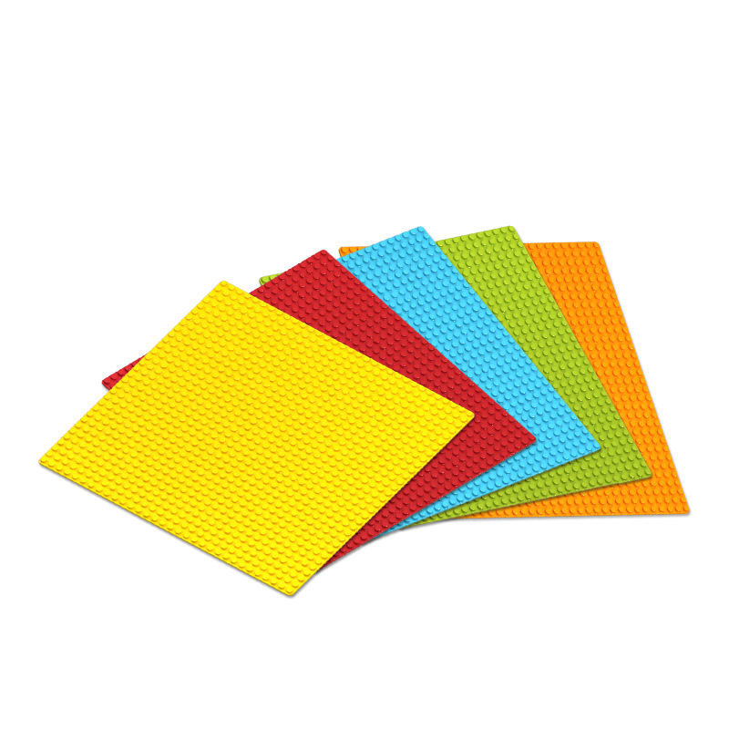7 Colors 32*32 Dots Base Plate For Small Bricks Baseplate Board Compatible Legoed Figures DIY Building Blocks Toys For Children