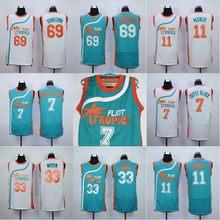 Flint Tropics Jersey 7 Coffee Black 33 Jackie Moon 11 ED Monix 69 Downtown  Movie Basketball Jersey Stitched Men Throwback Jersey 33a2de843