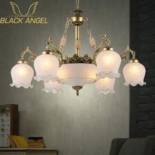 2015 New arrival Hot sale chandeliers genuine vintage chandelier handmade golden high quality flowerlike novelty led chandelier