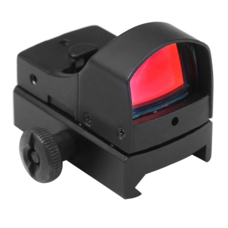Tactical Mini Holographic Dot Reflex Sight Scope Light Adjustable Brightness Hot Sell