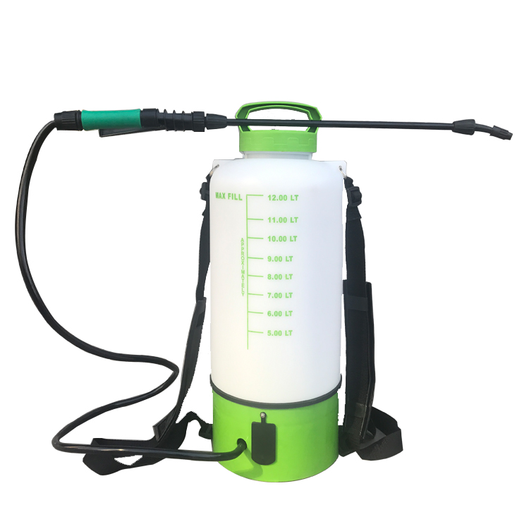 A 5/8L Electric sprayer Rechargeable Spray bottle Pesticide spraying machine Disinfection 50cm Stainless steel expansion  Pole