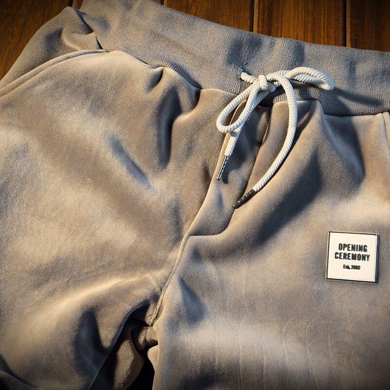 Nouveau hiver survêtements hommes ensemble epaissir polaire pull sweat + pantalon costume de sport ensemble sweat à capuche homme sport costumes - 6