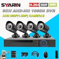 8 Channel CCTV System Home Safety 1080N Full 960P 8ch 1 3MP HD AHD DVR 1800TVL