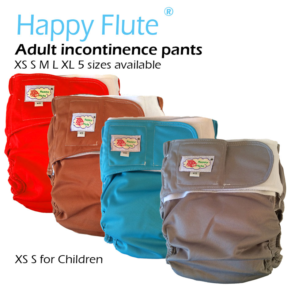 Happy Flute Adult Cloth Diaper, Incontinence Pants-1052