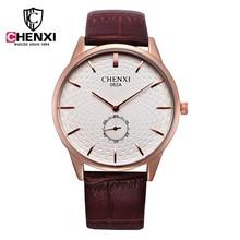 2016 CHENXI luxury Watches Men Luxury Brand  Fashion Ultra-thin Dial Quartz Watch Business Casual Wrist watch Relogio masculino