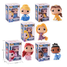 Funko pop Princess doll Belle, Cinderella, Rapunzel, Tiana, ARIEL Vinyl action Figure Collectible Model Toys for children(China)