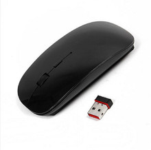 2.4G Gaming Mouse Gamer Wireless Mice Ultra-thin Mouse Wireless USB Receiver Ratones PC