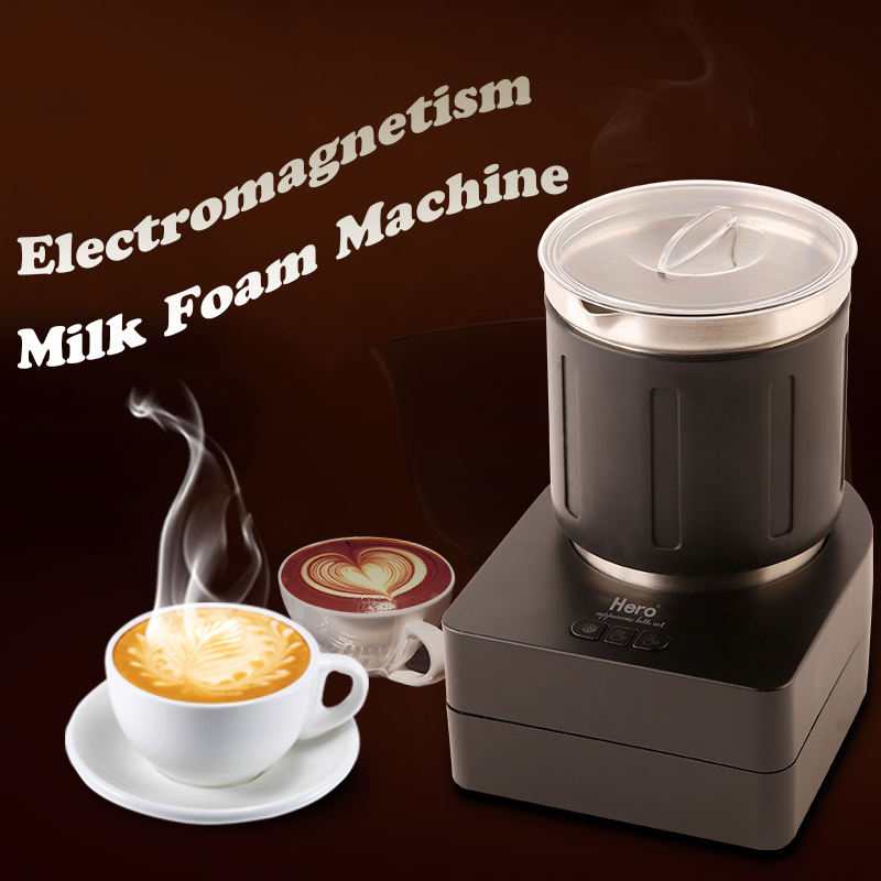 Electric Milk Frothers Coffee Milk Foaming Machine Automatic Milk Mixer Small Household Milk Mixing Machine HN-1300Electric Milk Frothers Coffee Milk Foaming Machine Automatic Milk Mixer Small Household Milk Mixing Machine HN-1300