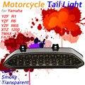 Светодиодный задний фонарь для Yamaha YZF R6 R1 FAZER FZ1 FZ8 TMAX S30 1200Z  интегрированный сигнальный фонарь для мотоцикла  задний стоп-сигнал