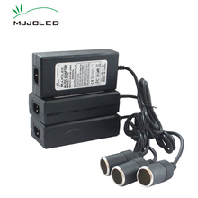 220 В до 12 В AC DC легче 10A адаптер 220 В 12 В прикуривателя трансформатор Мощность адаптер 12 В 5A 110 В конвертер Питание