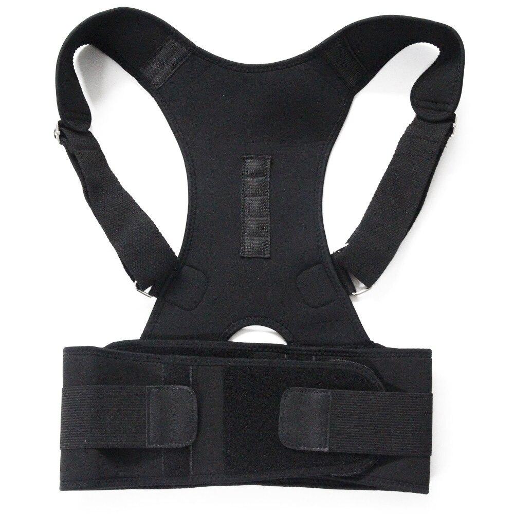 Therapie Haltung Magnetische Corrector Brace Schulter Zurück Unterstützung Gürtel für Männer Frauen Hosenträger & Unterstützt Gürtel Schulter Haltung Feecy