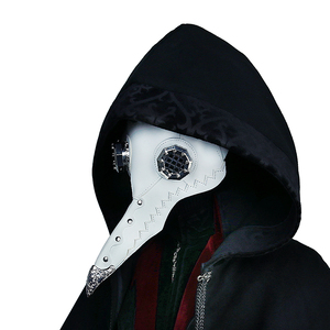 Image 5 - Steampunk Plague Bird Mask Doctor Mask Long Nose Cosplay Fancy Mask Retro PU Leather Halloween Mask Costume Props
