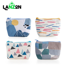 Lanzon Fashion Coin Purses Women Wallet Small Cute Credit Card Holder Key Money Bags for Ladies Purse Kids Children Zipper Pouch цена 2017