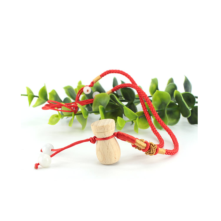5 шт/лот Женская мини деревянная бутылка кулон ароматерапия