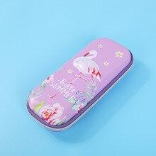 unicorn pencil case EVA estuche escolar Flamingo trousse scolaire stylo Kawaii box school supplies
