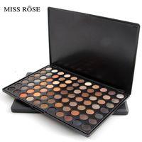 MISS ROSE Professional Eye Shadow Colorful Palette 77 Color Eyeshadow Palette Shimmer Nude Eye Shadow Makeup Women Eye Pallete