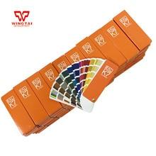 Германия RAL K7 цветная карта краска покрытие цветная Таблица 213 видов цветов