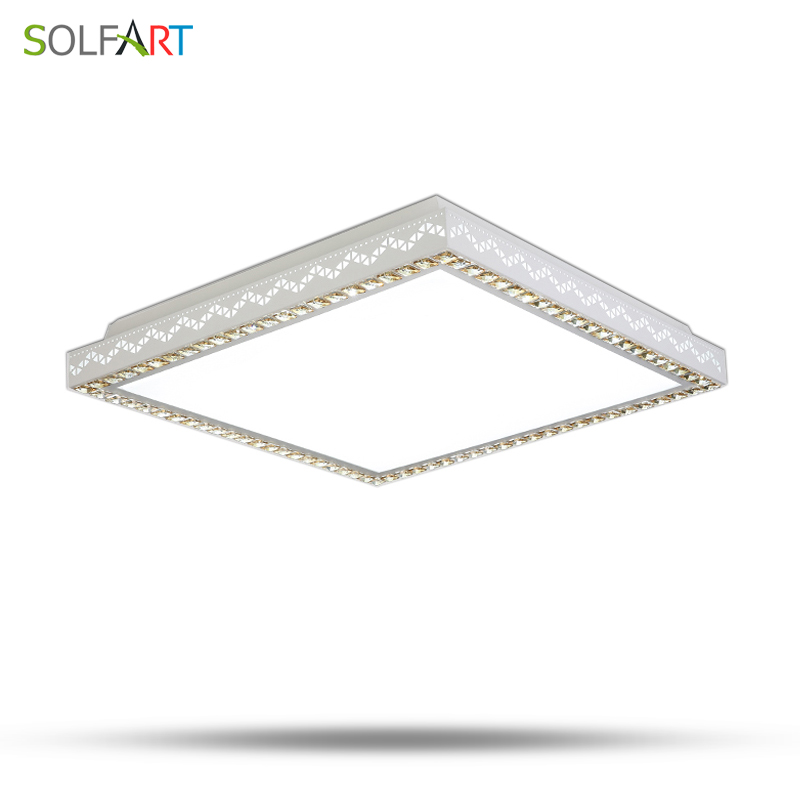 Lamp Ceiling Lights Surface Ceiling Modern Led Chip Dimming Lights Square Rectangle Luminaria Ceiling Lamps