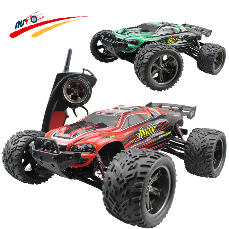 RC Cars Full Proportion Monster Truck 9116 Buggy 1:12 2.4G Off Road Pickup High Speed Car Big Foot Vehicle Electronic Hobby Toys high speed big rc car 9116 1 12 2wd brushed rc monster truck rtr 2 4ghz good children toy