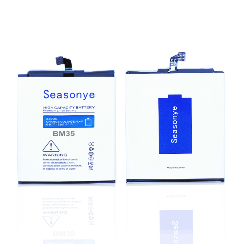 Seasonye 1x 3000mAh / 11.52Wh <font><b>BM35</b></font> / BM 35 Phone Replacement Li-Polymer <font><b>Battery</b></font> For <font><b>Xiaomi</b></font> <font><b>4C</b></font> M4C Mi <font><b>4C</b></font> <font><b>Mi4C</b></font> image