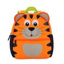 ce2361efcfd70 النيوبرين الأطفال 3D الاطفال حقيبة تصميم حيوان لطيف على ظهره طفل كيد مدرسة  حقائب روضة حقيبة بنقوش كرتونية الزرافة القرد البومة