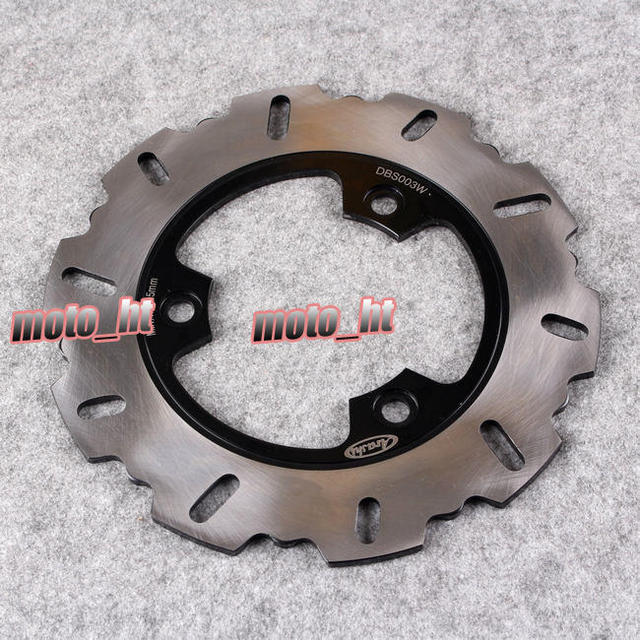 Arashi Rear Brake Disc Rotor For Honda CBR 250 NC19 NC16 NC18 NC21 Spada 250 NSR 250