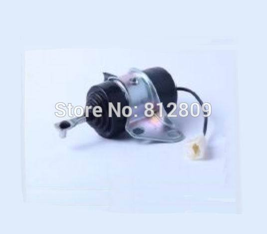 Fuel Shut Off Solenoid 16851-60014, 052600-4531 for Denso B7410D BX1500D BX1800D 16851 60010 16851 60011 16851 60014 fuel shut off solenoid for 052600 4531 052600 4530