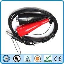 Trimble 46125 20 yedek güç kablosu GPS 12V 5700, 5800, R6, R7, r8, SPS, 4700, 4800, RTK güç kablosu