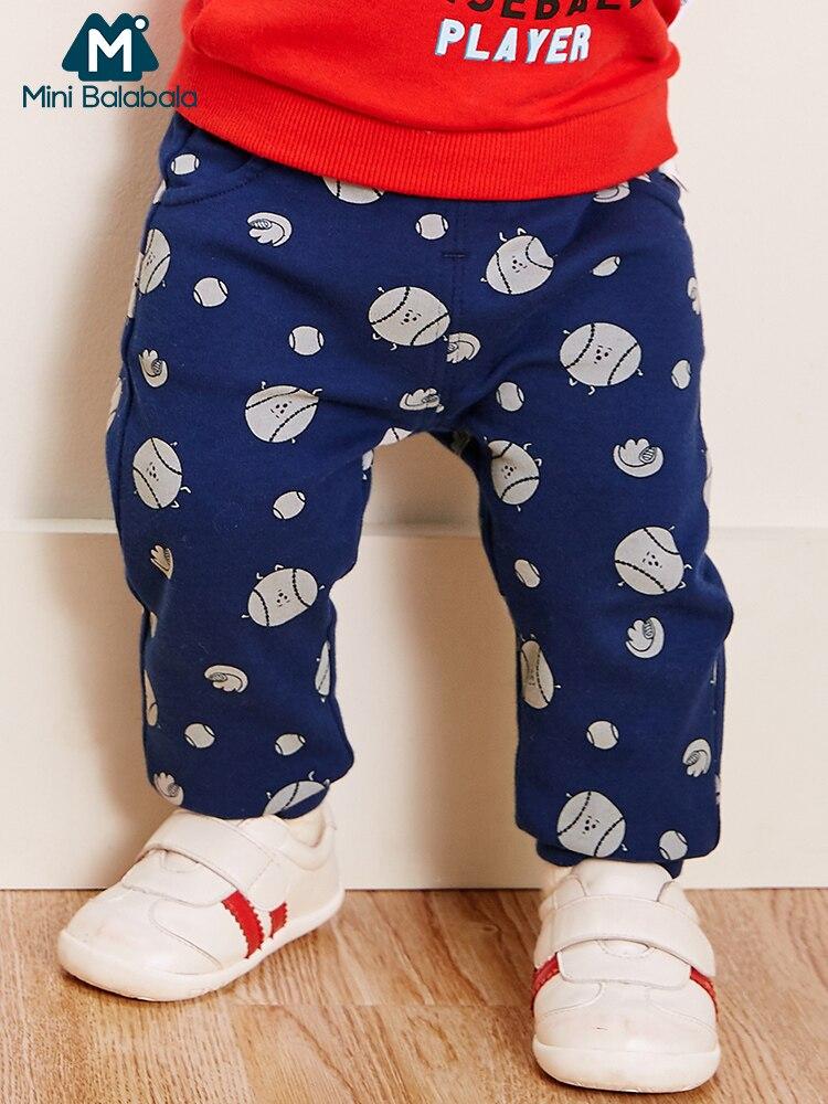 Mini Balabala Baby Peuter Pasgeboren Baby Jongens Meisjes Katoenen Broek Unisex Casual Bottom Harembroek Pp Broek Vos Broek 6 M-24 M Modieuze (In) Stijl;