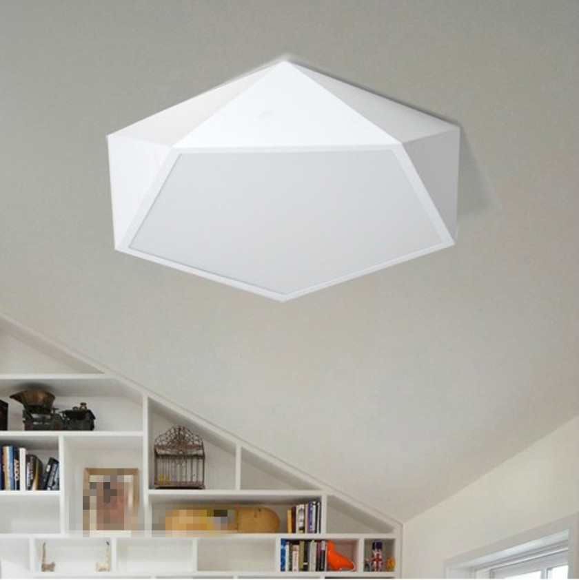 ikea ceiling lamps lighting. modern led ceiling light ikea polygon for bedroom black u0026 white simple contracted lamp lamps lighting