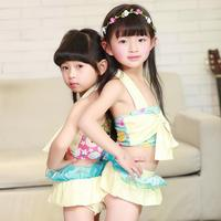 2017 New Smoothie Children Swimsuit Body Lovely Girls Color Body Spa Swimsuit 3045