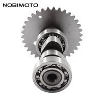 Motorcycle Sprocket Camshaft Fit For 125cc 152QMI GY6 Chinese Scooter Keeway QJ150 Motorcycle Atv GT109