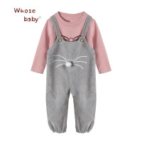 Newborn Baby Clothes Girls 2Pcs Baby Sets Shirt Corduroy Pant Girl Clothes For Children Casual Toddler