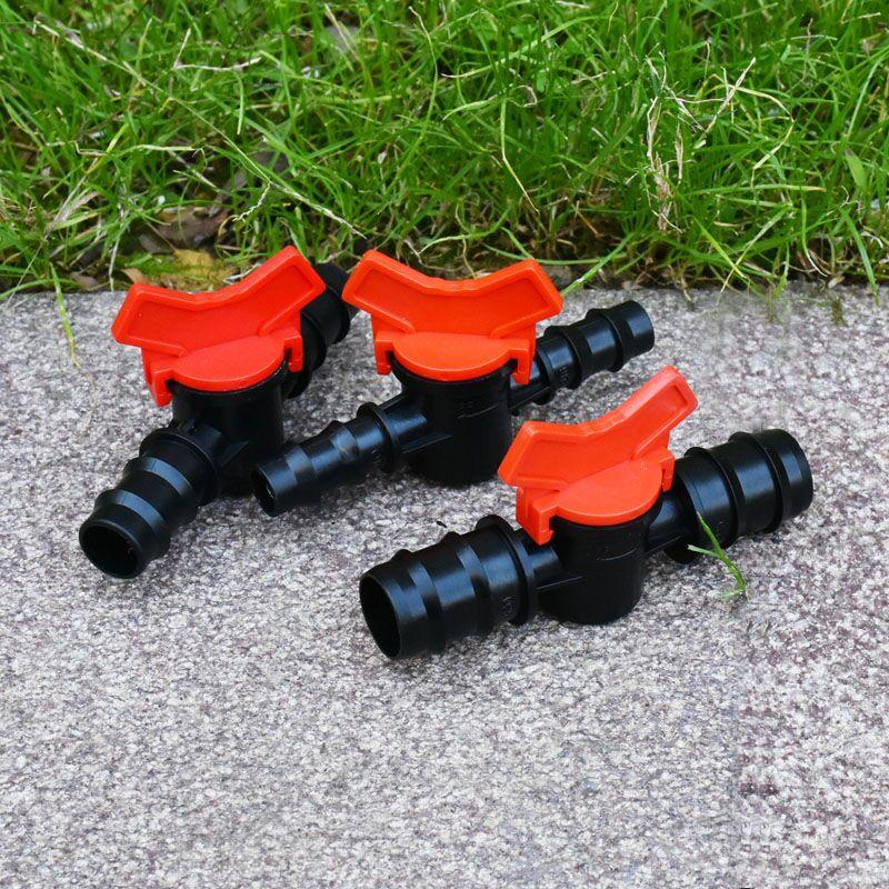 HTB1D1KXX.vrK1RjSspcq6zzSXXaB 1/2 3/4 garden hose tap DN15 DN20 irrigation Water valve 16mm 20mm 25mm garden hose waterstop Connector cranes 1pcs