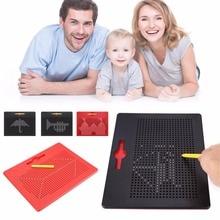 Малювання іграшок для дітей Магнітний планшетний магніт Pad Малювання борту Магнітні бусини з металу Ball Kids Навчальні іграшки Подарунки