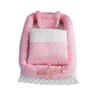 100%Cotton Newborn Crib Baby Nursery Bumper Infant Bedding Bumper Baby Bed Protector Toddler Cartoon Crib Bedding Bumper
