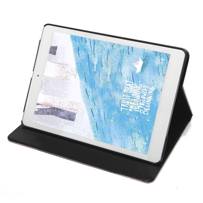 Newest High Quality Fashion Original 1:1 9.7 inch Foldable Smart Thicker Full Cover Protective stand Case For iPad air 2