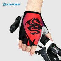 XINTOWN Men S Women S MTB Cycling Gloves Half Finger Washable Breathable Soft Polyester Road Bike
