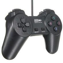 Новый проводной геймпад для ПК Joypad USB 2.0, совместим с опреационными системами XP/Vista