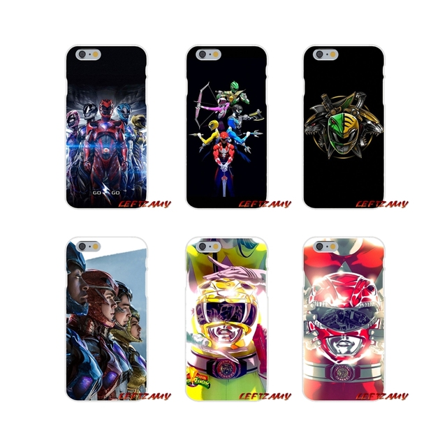 buy popular 60f43 f2453 US $0.99 |Power Rangers Accessories Phone Cases Covers For iPhone X XR XS  MAX 4 4S 5 5S 5C SE 6 6S 7 8 Plus-in Half-wrapped Case from Cellphones & ...